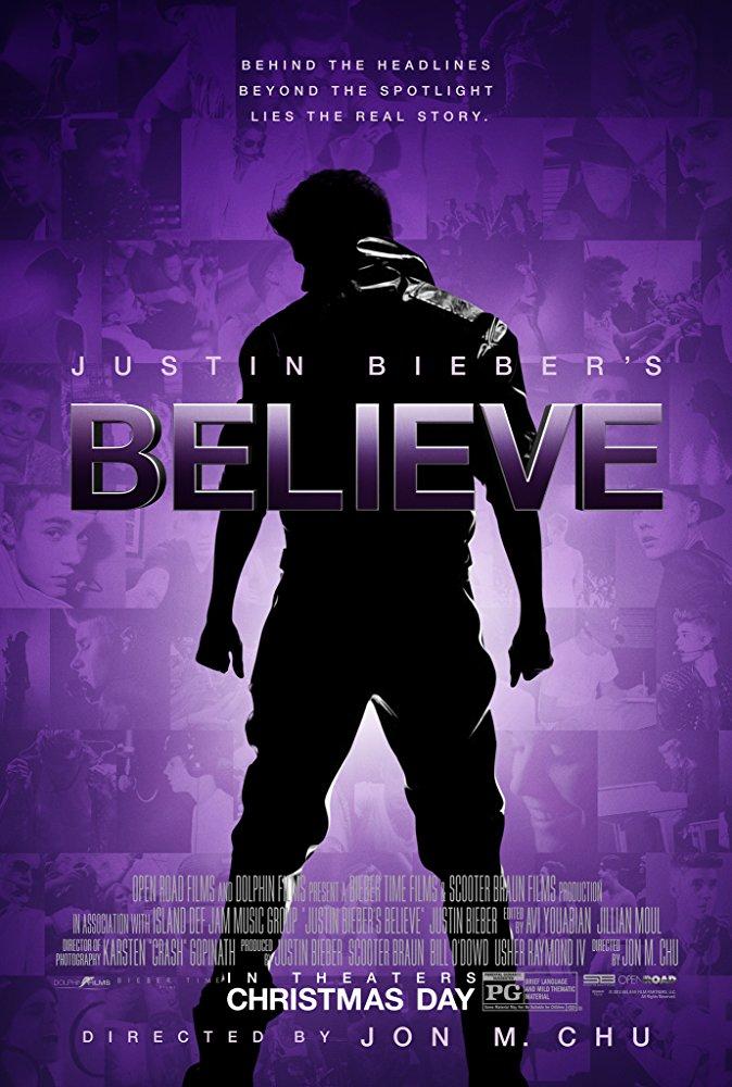 Justin Bieber s Believe online cz