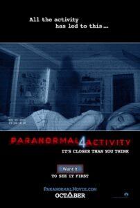 Paranormal Activity 4 online cz
