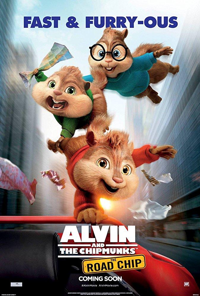 Alvin a Chipmunkové: Čiperná jízda Alvin a Chipmunkovia 4 online film