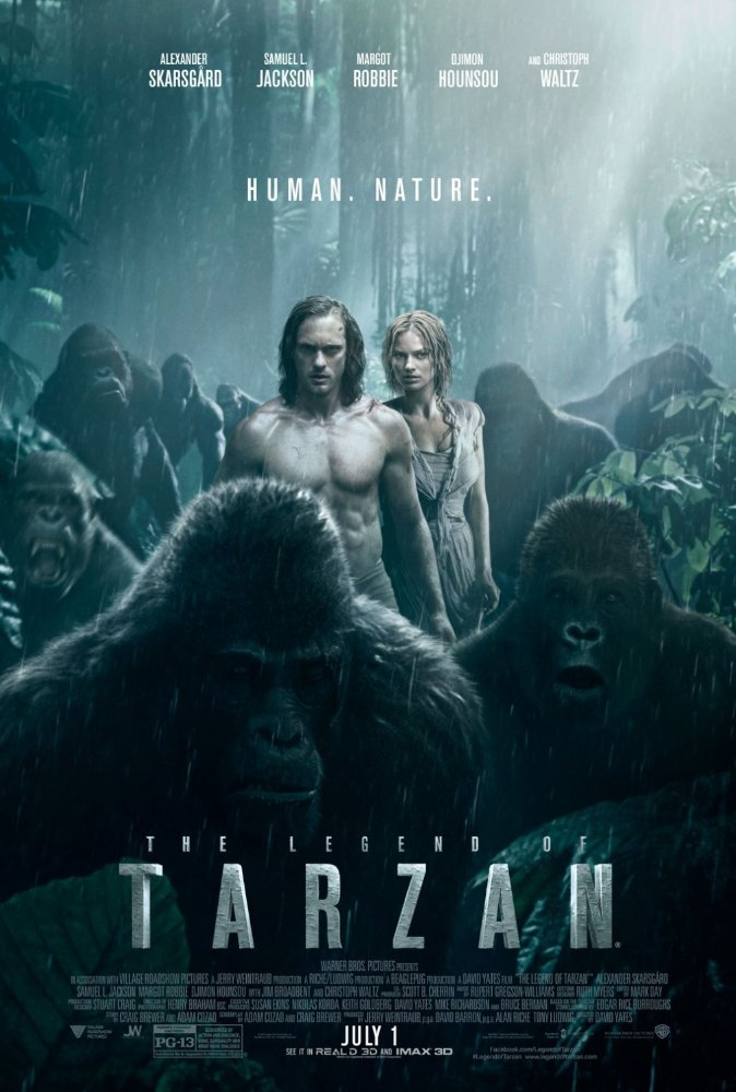 Legenda o Tarzanovi online cz