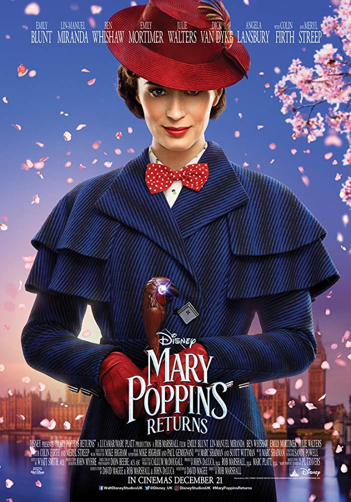 Mary Poppins se vrací Návrat Mary Poppins online cz