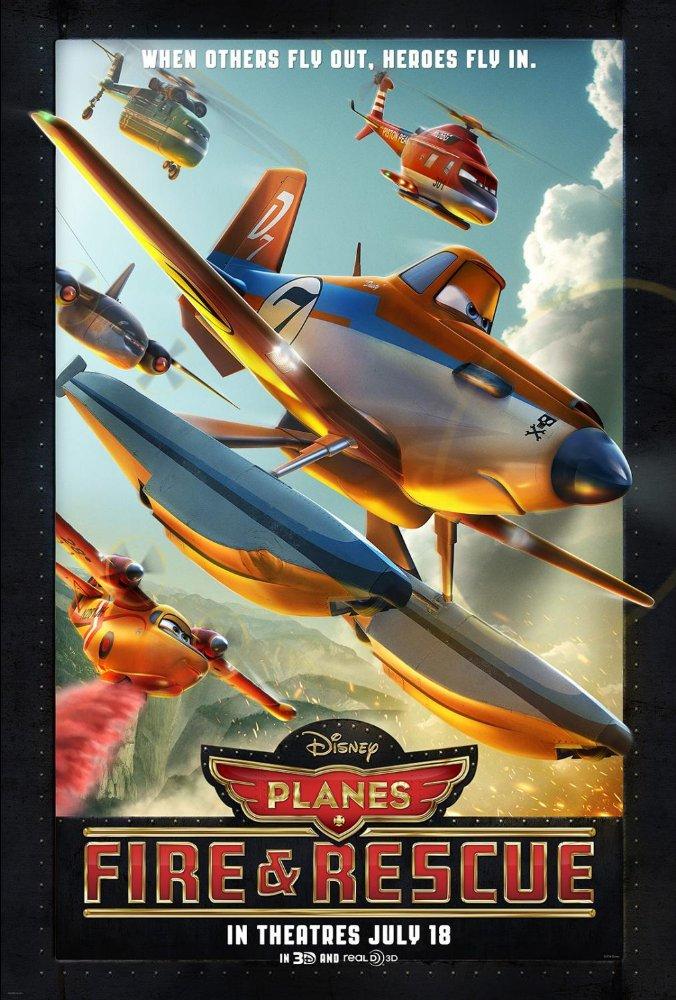 Letadla 2: Hasiči a záchranáři Lietadlá 2 online film