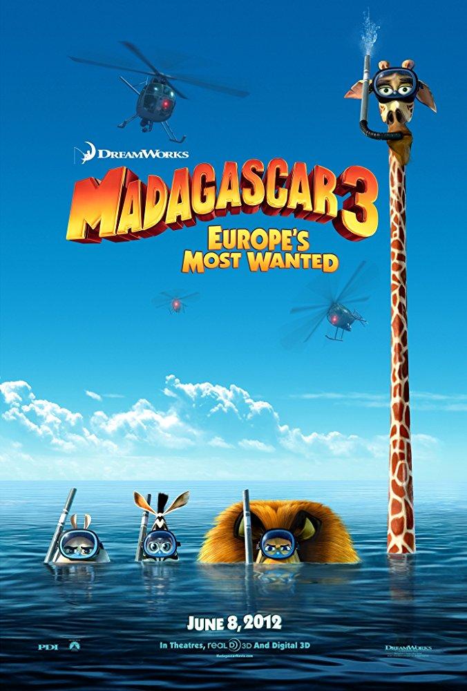 Madagaskar 3 online film