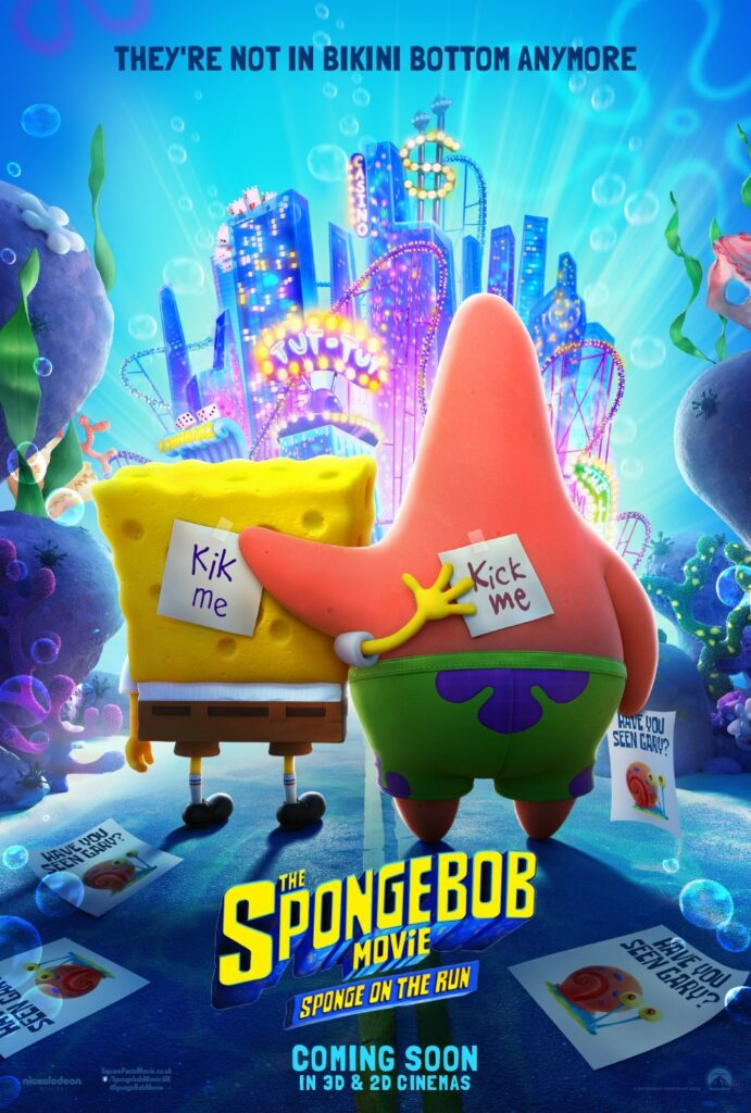 SpongeBob ve filmu Houba na útěku online cz