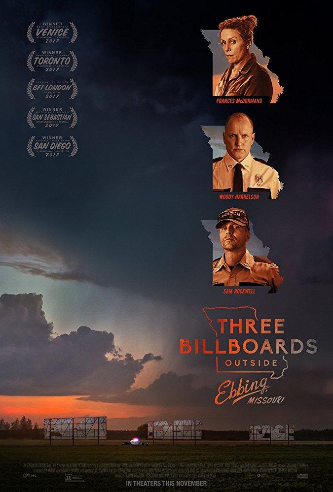 Tri billboardy kúsok za Ebbingom online film